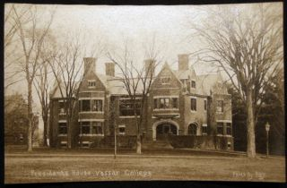 Circa 1909 Real Photo Postcard Vassar College Presidents House Poughkeepsie, N.Y. Americana -...
