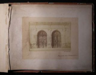 Circa 1865 Collection of Architectural Photographs of Blois France By Seraphin-Mederic Mieusement (1840 -1905)