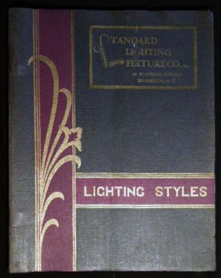 Lighting Styles 1932 Standard Lighting Fixture Co., Inc. Inc Americana - Business History -...