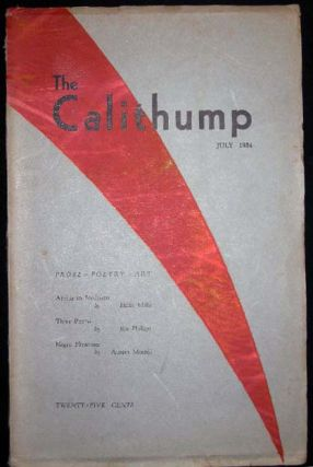 The Calithump July 1934 Volume II Number 5. Americana - 20th Century - Literary Ephemera - Texas...