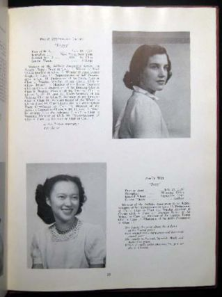 The Twelfth Class Year Book 1949 The Chapin School New York, N.Y. Americana - 20th Century -...