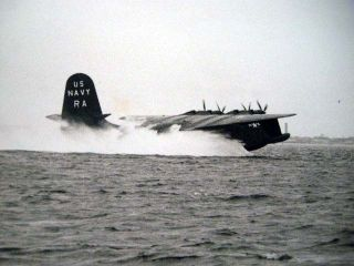 1949 Photograph of Caroline Mars JRM-2 BuNo 76824, U.S. Navy Large Seaplane Arrival of...