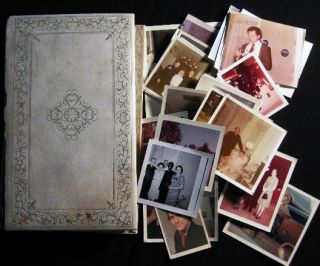 Circa 1955 - 1970 Photograph Album of a Priest's Ordination Ceremony (with) Other Religious Life...