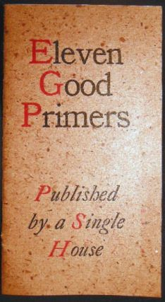 Eleven Good Primers Published By a Single House. Americana - Publishing History - 20th Century -...