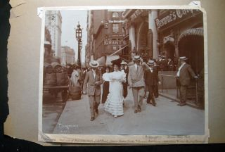 An Album of 19th & Early 20th Century Photographs of New York City Historic Scenes, People and...