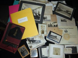 Circa 1850 - 1970 Crawford - Dinwiddie Family Photographic History & Genealogy Collection:...