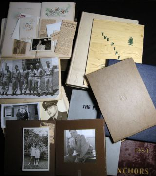 Circa 1953 - 1957 Collection of Letters, Documents, Photographs, Yearbooks and Ephemeral Materials of a Poughkeepsie, NY American U.S. Army Serviceman Stationed in Germany During the Cold War.