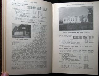 1923-1924 to 1934-1935 Collection of the Directory and Year Book of the Public Schools Second Supervisory District Suffolk County New York; Bound in One Volume.
