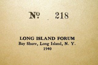 True Tales From the Early Days of Long Island