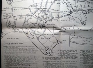 Three Maps of the Town of Southold Long Island, N.Y. 1640 -1965