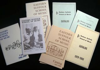1975-2013 Woman Music Teacher's Archive Highlighting Creative Work: Teaching, Authoring a Piano Instructional and Founding the Eastern Suffolk School of Music.