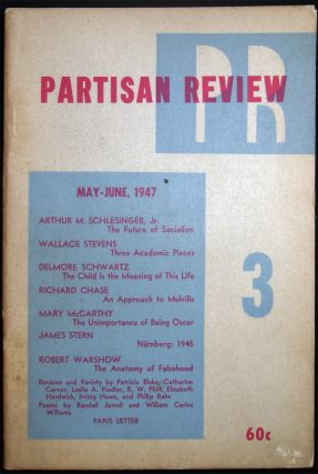 Partisan Review Volume XIV, No. 3 May-June, 1947. Americana - 20th Century - Periodical -...