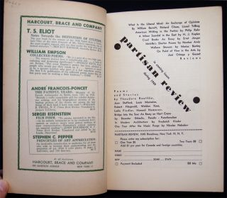 Partisan Review May, 1949 Volume XVI, No. 5