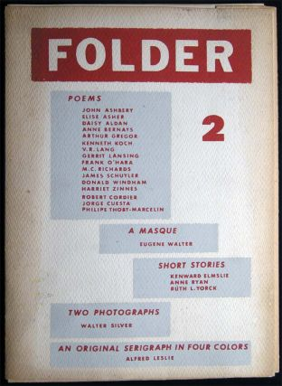 Folder Volume I, Number 2: 1954. Art - 20th Century - Abstract Art - Periodical - Folder