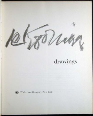 De Kooning Drawings with the Ownership Signature of New York School Abstract Expressionist Mary Abbott