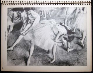 Hilaire-Germain Edgard Degas 1834-1917 30 Drawings & Pastels
