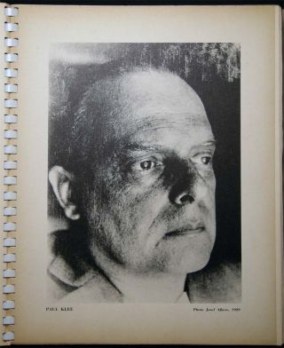 Paul Klee Paintings Watercolors 1913 to 1939 Edited By Karl Nierendorf. Art - 20th Century - Paul...