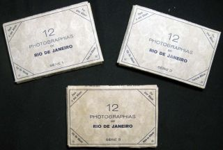 Circa 1930 Group of Souvenir Photographs By German-born Naturalized Brazilian photographer Theodor Preising (1883-1962)