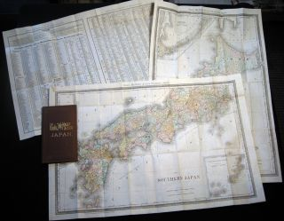 Rand, McNally & Co.'s Japan. Japan - 19th Century - Map