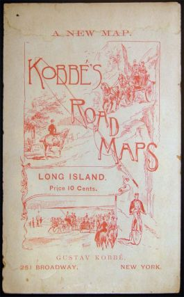 Road Map of Long Island. Americana - 19th Century - Map - Long Island New York