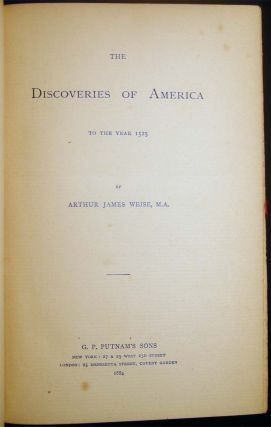 The Discoveries of America to the Year 1525