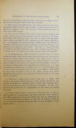 Proceedings of the Board of Supervisors of the County of Suffolk for the Year 1881