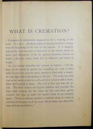 Opinions on Cremation