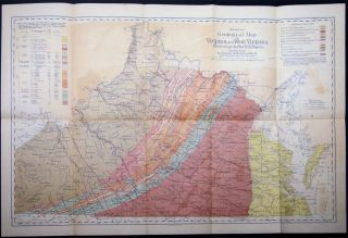 A Reprint of Annual Reports and Other Papers, on the Geology of the Virginias. By the Late William Barton Rogers, LL.D., Etc.
