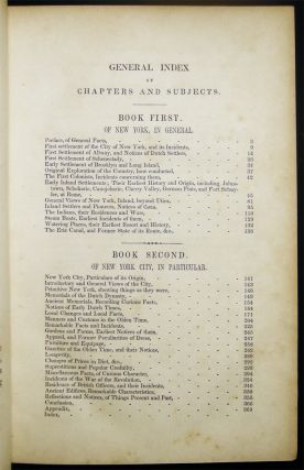 Annals and Occurrences of New York City and State, in the Olden Time; Being a Collection of Memoirs, Anecdotes, and Incidents Concerning the City, Country, and Inhabitants, from the Days of the Founders.