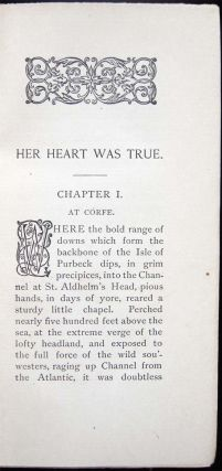 Her Heart Was True A Story of the Peninsular War Founded on Fact.