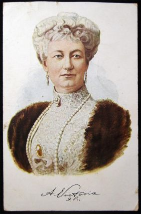 3 Early Auguste Victoria Kaiserin Cards