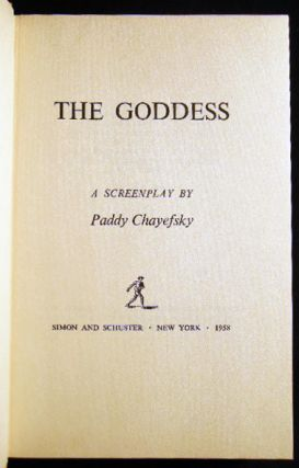 The Goddess: A Screenplay